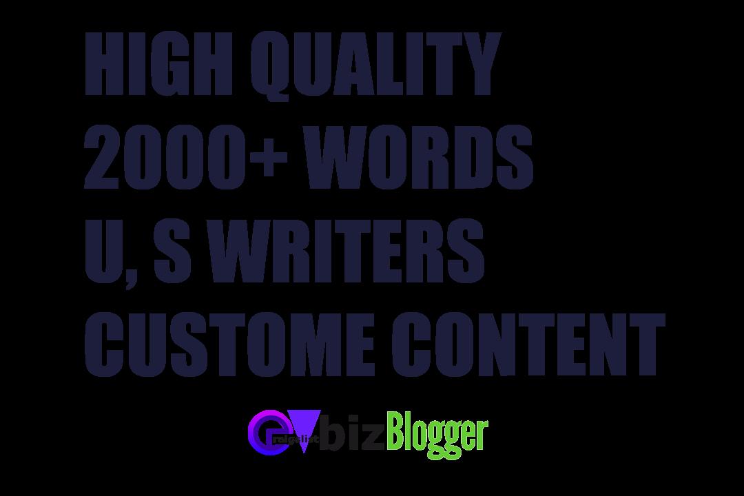 Blogging service